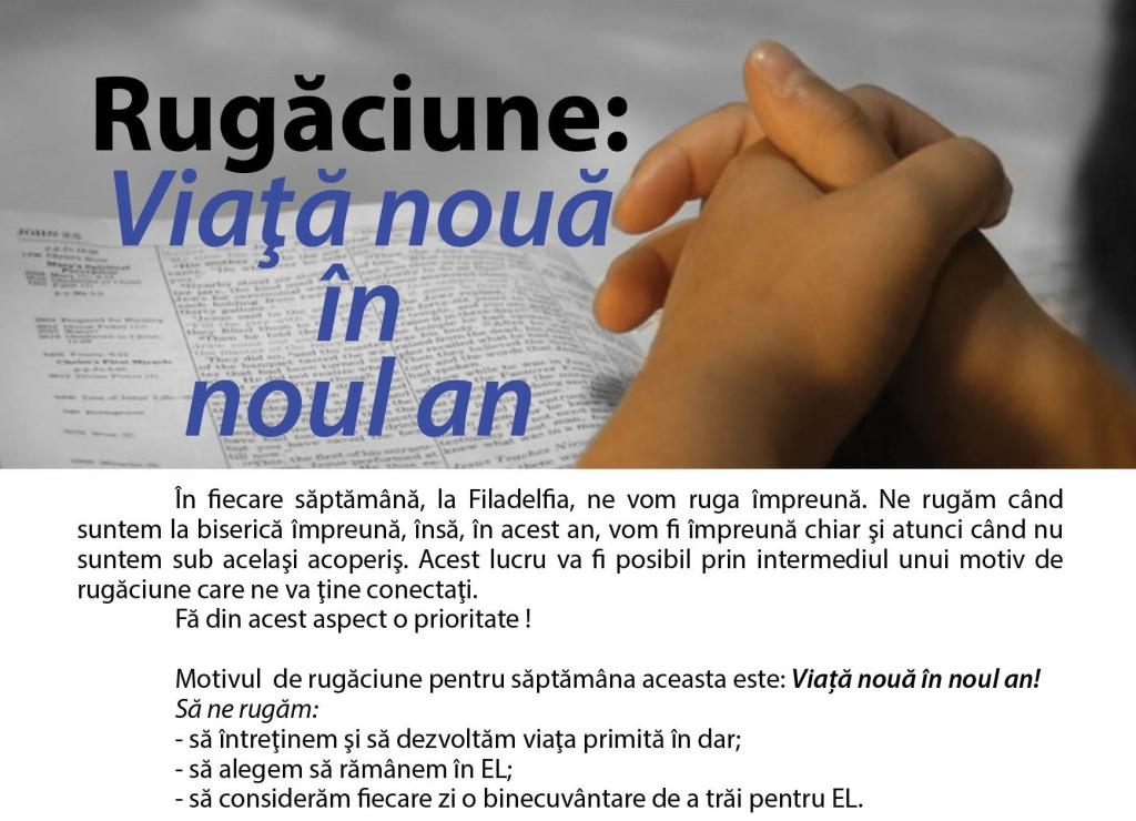 rugaciune - viata noua