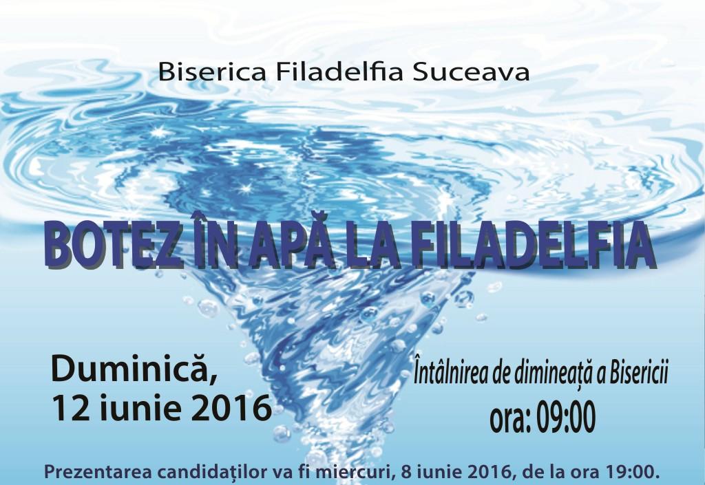 botez in apa