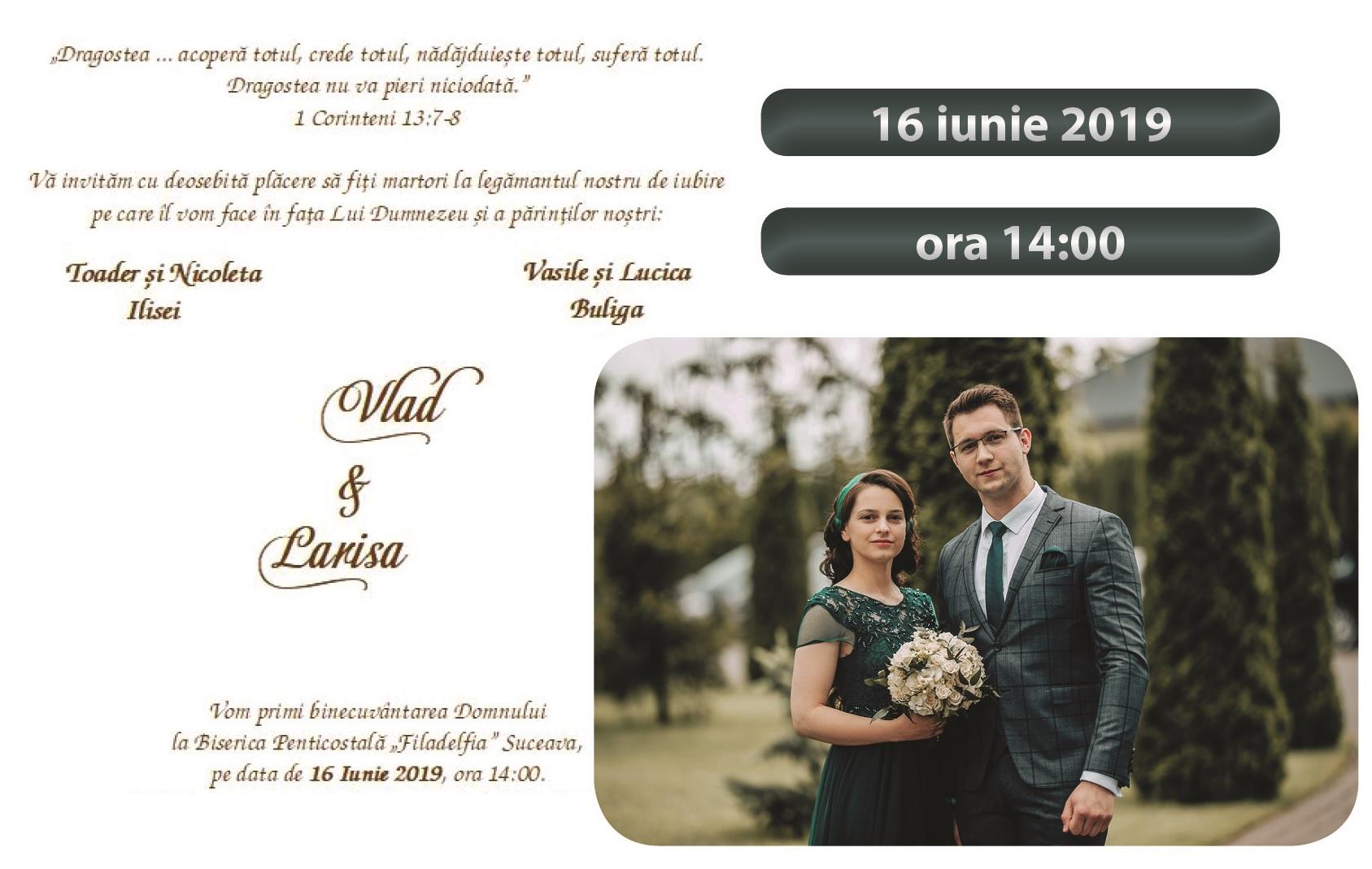 nunta Vlad & Larisa